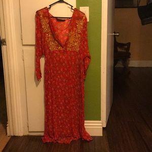 Flowy gipsy dress